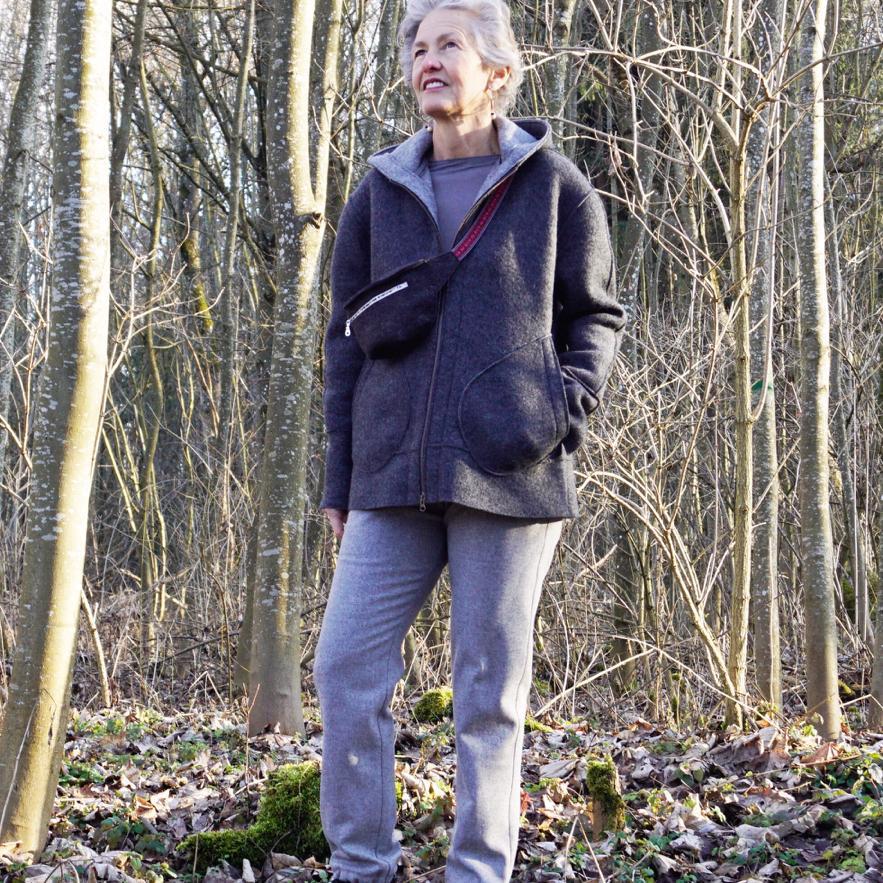 Frischluft schnappen beim Waldspaziergang, gut für unsere Abwehr